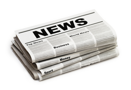 clipart of sample newspaper front page