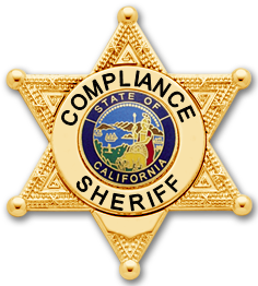 Compliance Sheriff Badge