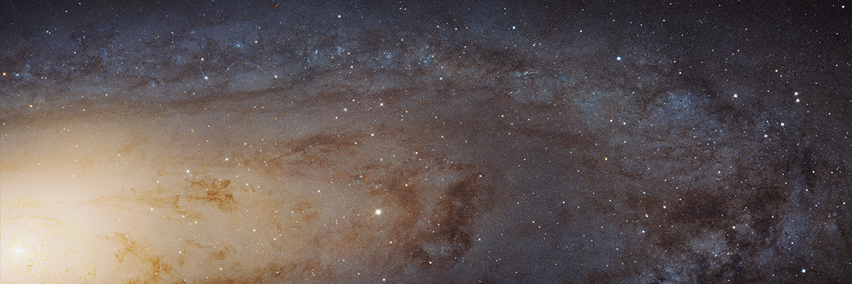 The Andromeda Galaxy from NASA Hubble Telescope