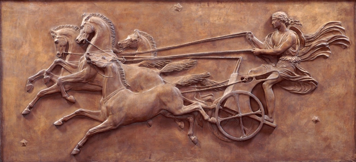 Phaeton driving the Chariot of the Sun, After 1846 John Gibson RA (1790 - 1866) The Royal Academy Collection