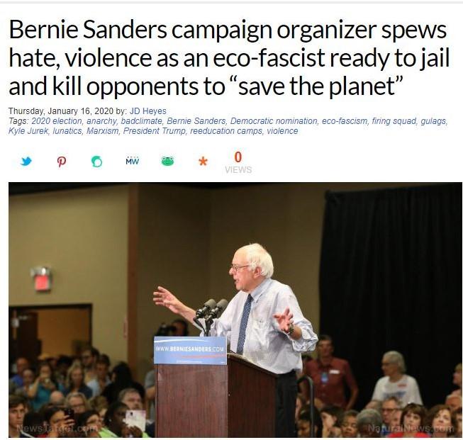 Natural News article image