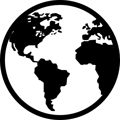 An icon representing the Earth
