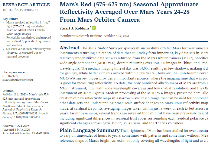 Screenshot of the full text of a journal article