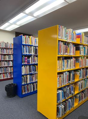 CMC Collection on ground floor of Axinn Library
