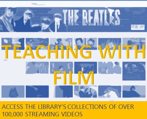 Access the library's collections of over 100,000 streaming videos