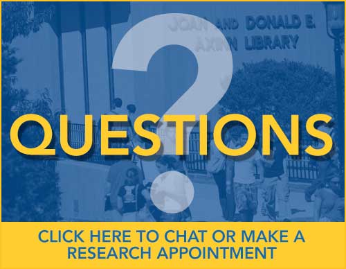 Questions? Click Here to Chat or make a research appointment.