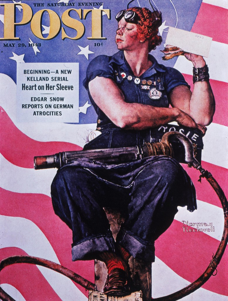 Norman Rockwell's Rosie the Riveter