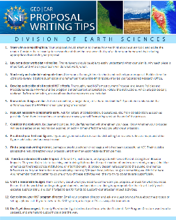 NSF writing tips document