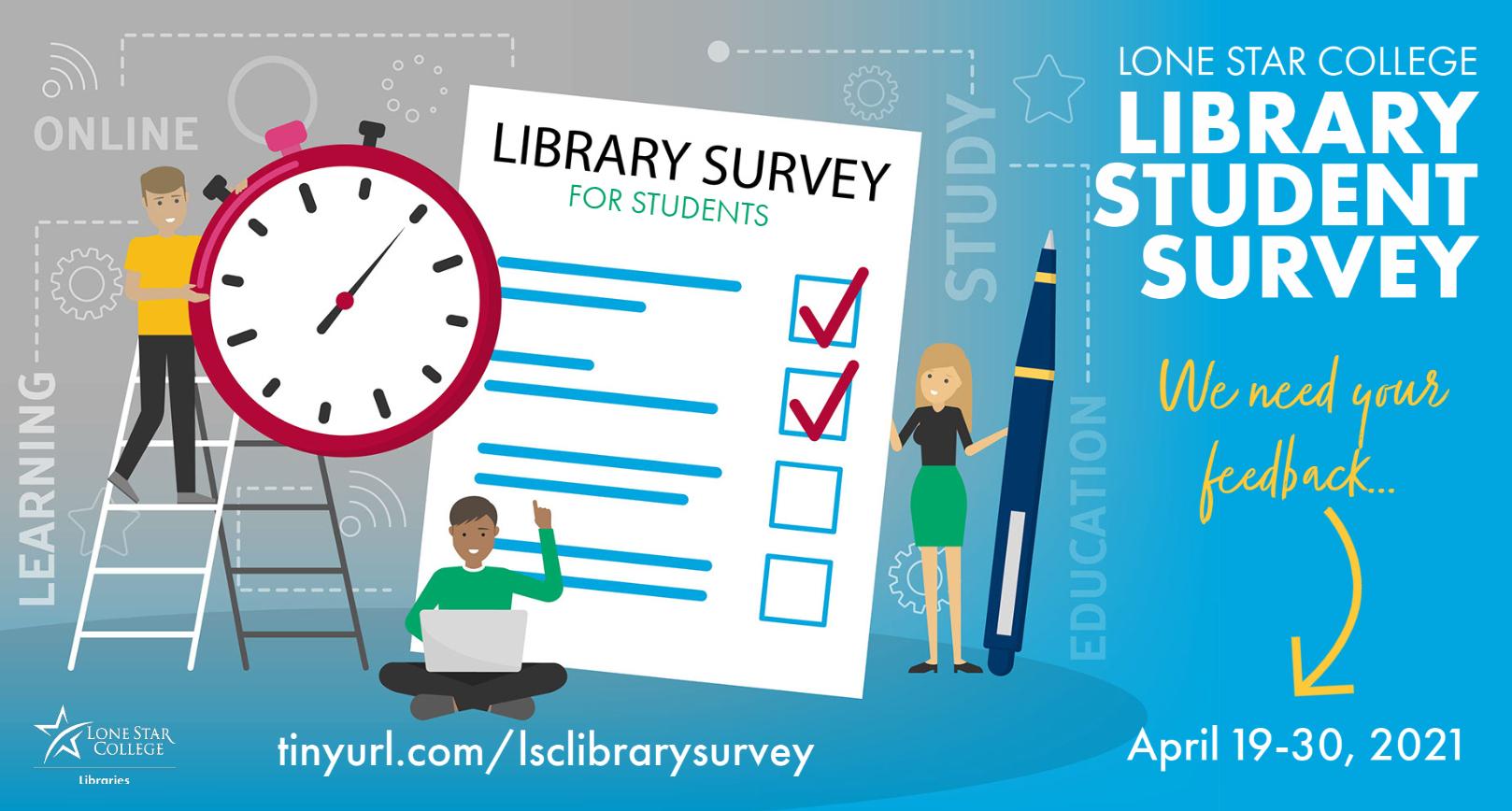 Library Survey April 19-30, 2021