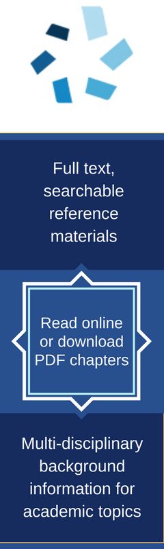 Gale Virtual Reference Library banner summarizes basic details from page: read online or download chapters, search reference articles, broad topic coverage