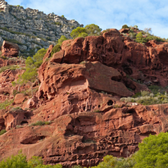 Photo of red rocks