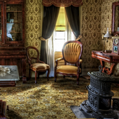 Image of a Victorian parlor