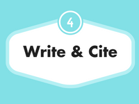 Step 4: Writing & Citing