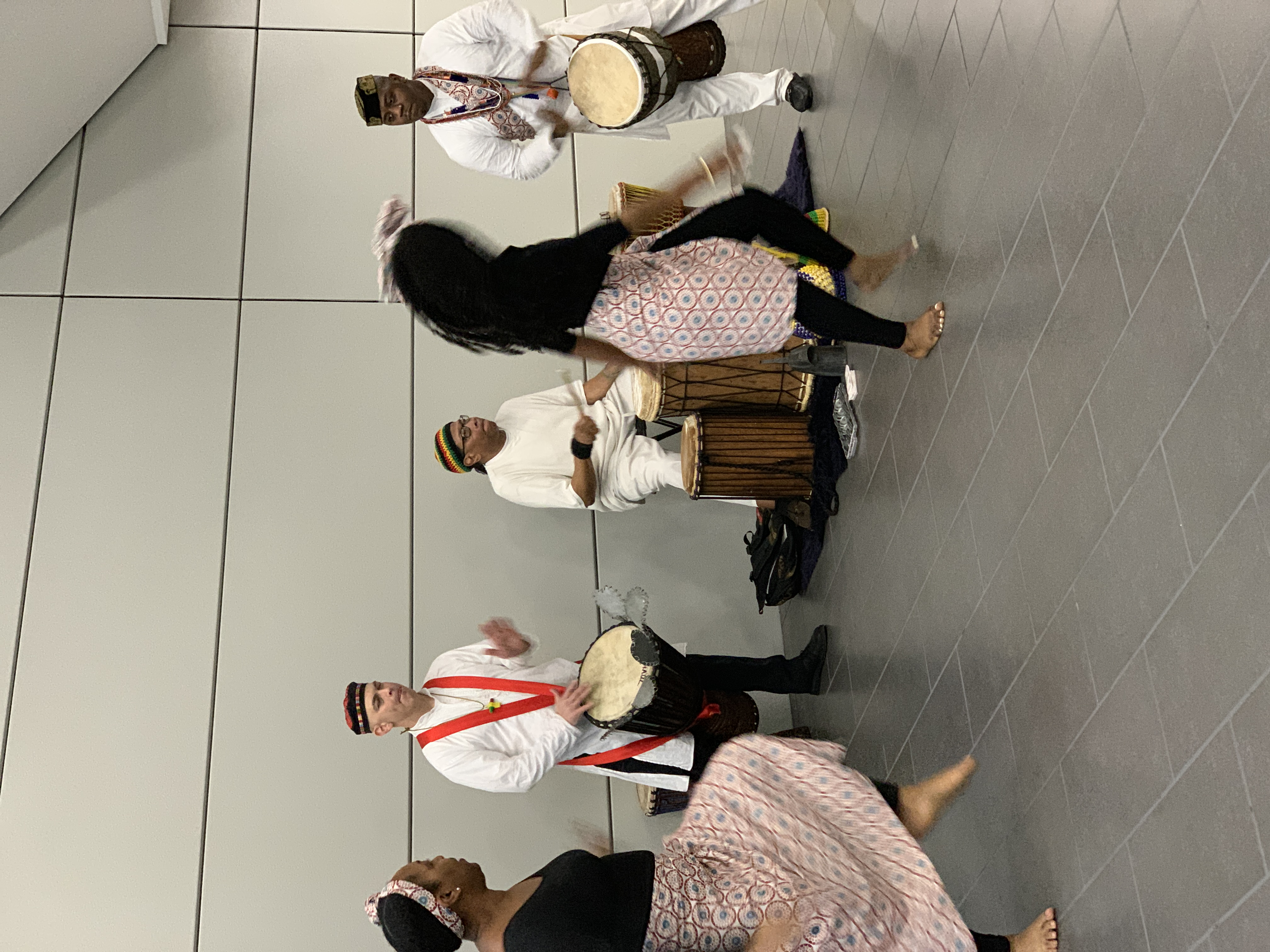 Lewa Afriika drum and dance performance at University Park