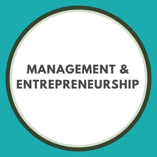 Management and entrepreneurship button