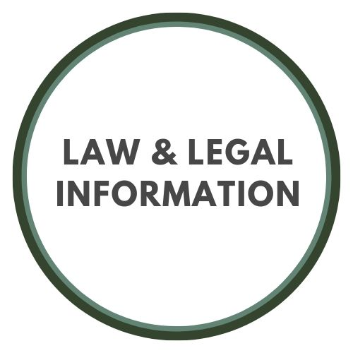 Law and legal information button