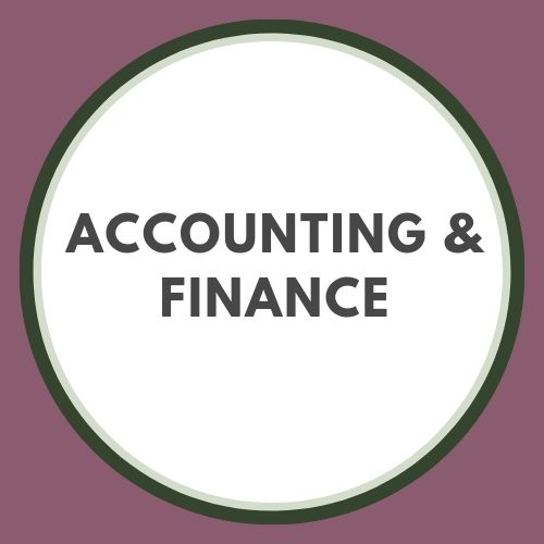 Accounting & Finance button