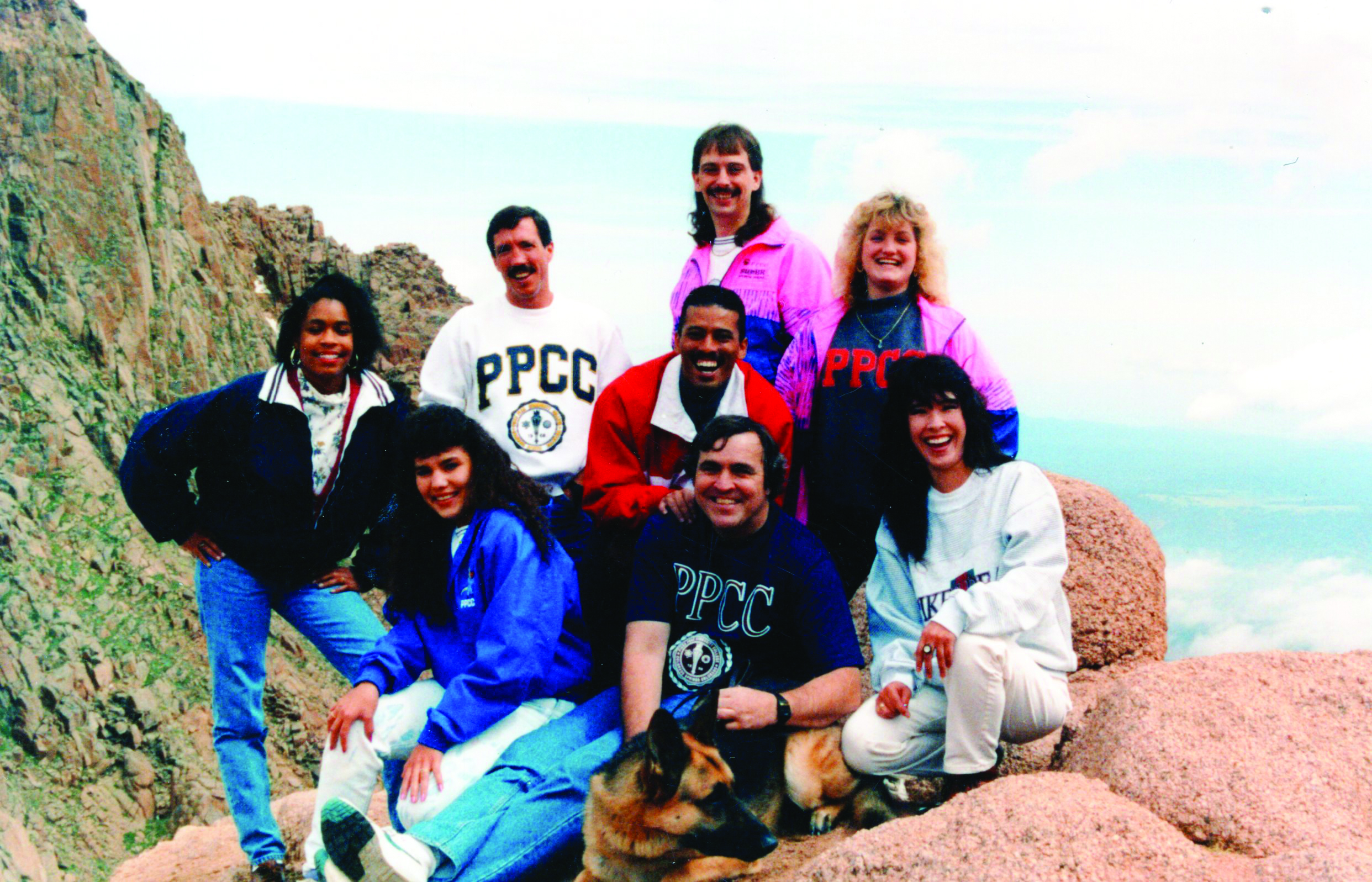Students at Pikes Peak