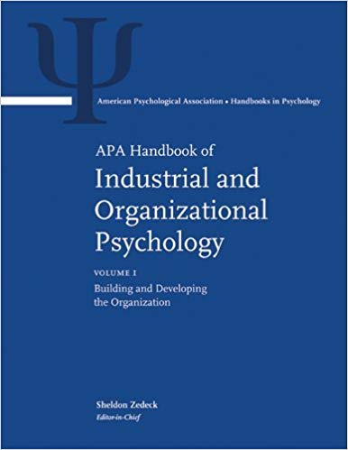 APA handbook of industrial and organizational psychology