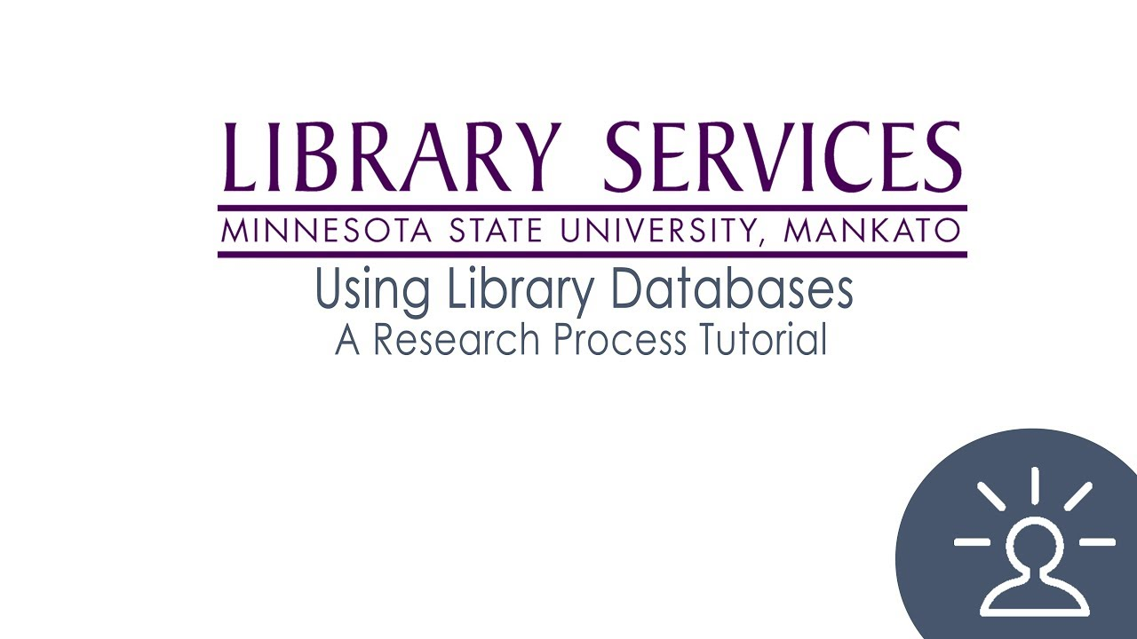Using Library Databases video screenshot