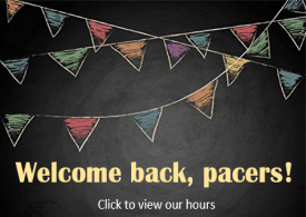 Welcome Back Pacers!