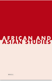 cover art for African and Asian Studies