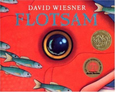 Image of book cover titled Flotsam by David Wiesner