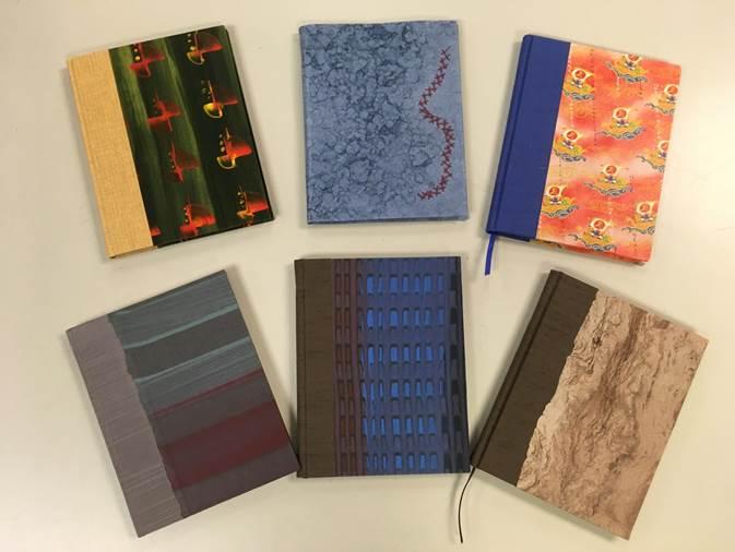 Journals handmade by Preservation