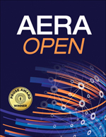 Cover of AERA Open journal