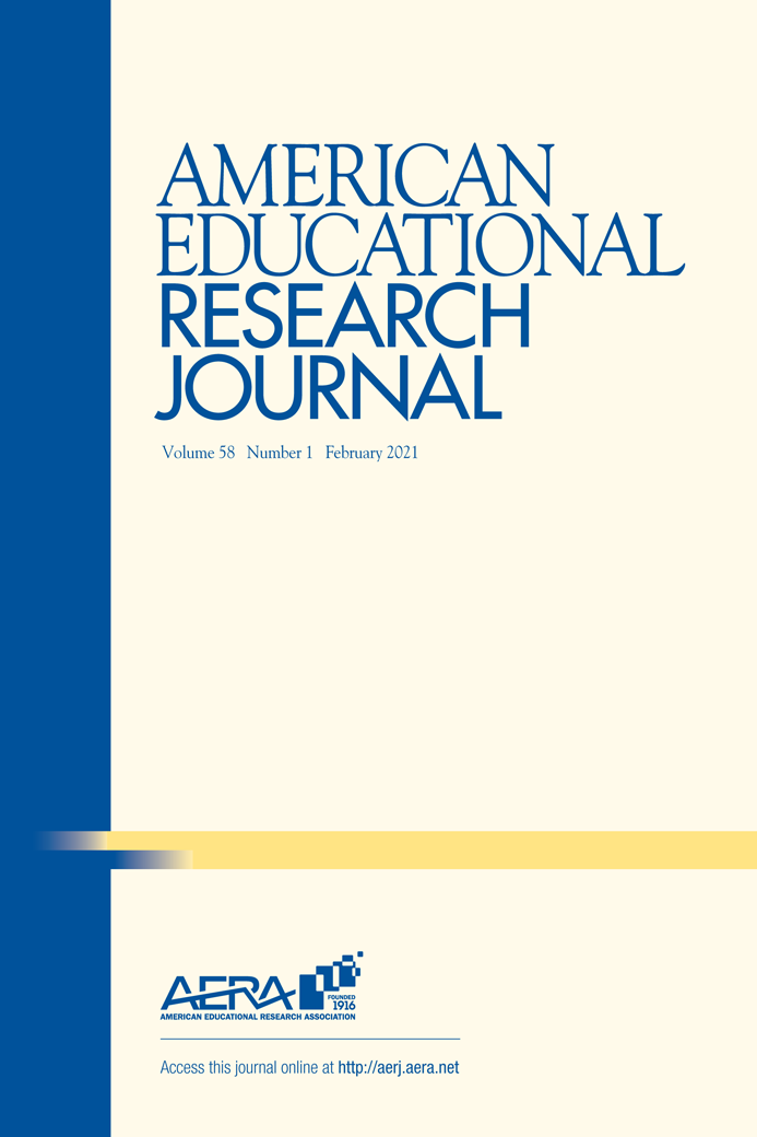 Cover of American Educational Research Journal