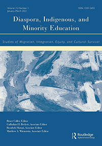 Cover of Diaspora, indigenous and minority education