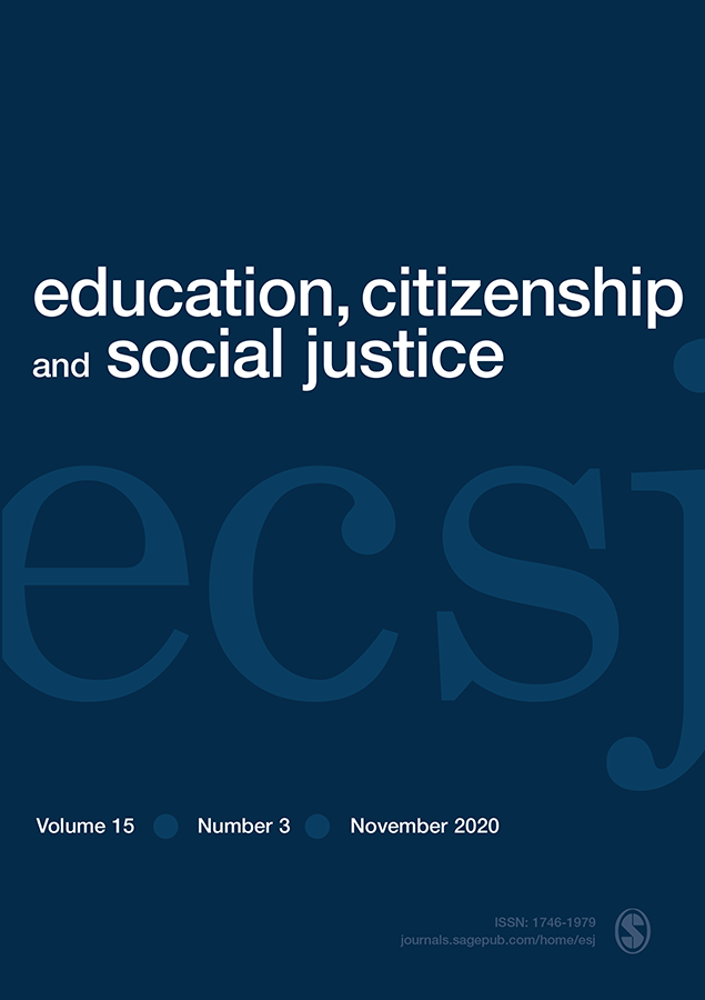 cover of Education, Citizenship, and Social Justice