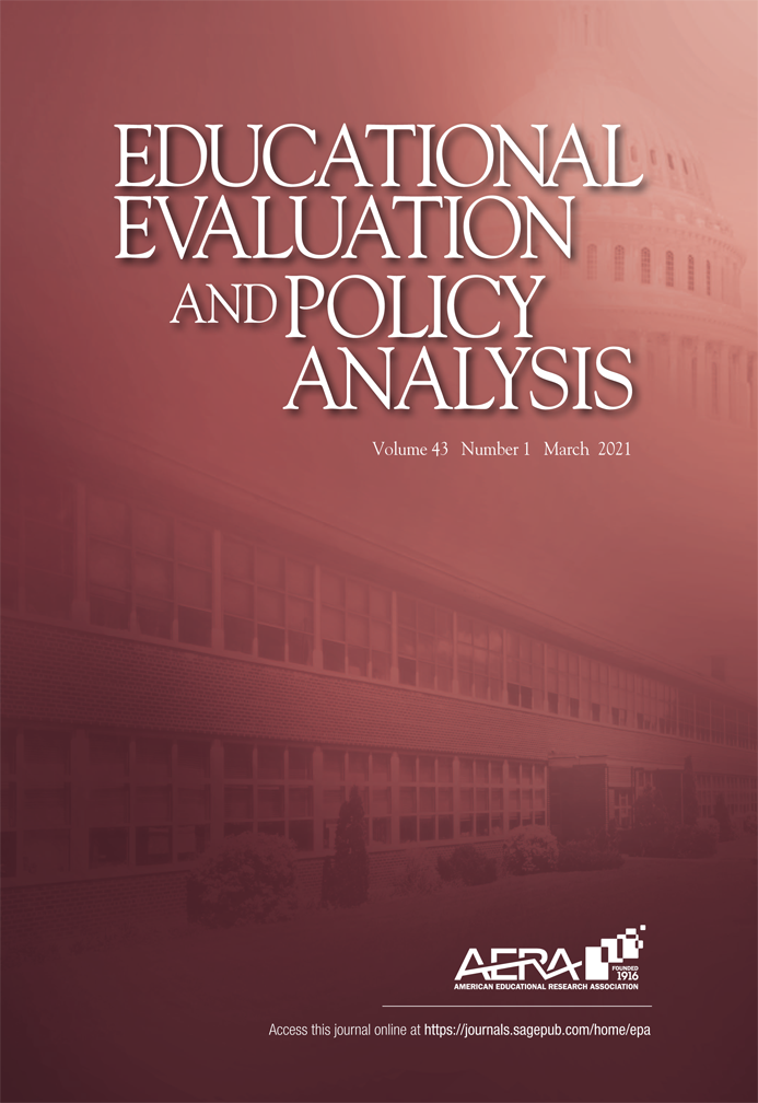 cover of Educational Evaluation and Policy Analysis