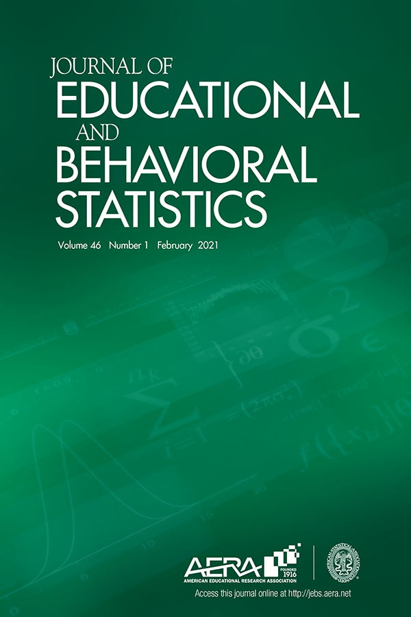 Cover of Journal of Educational and Behavioral Statistics
