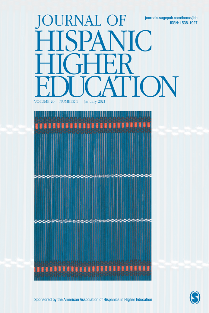 Cover of Journal of Hispanic Higher Education