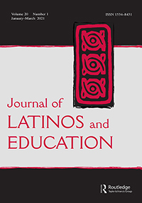 Cover of Journal of Latinos and Education