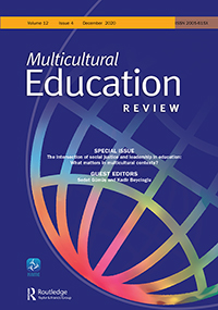 Cover of Multicultural Education Review