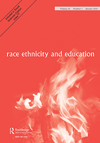 Cover of Race, ethnicity and education