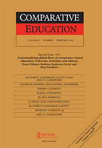 cover of Comparative Education