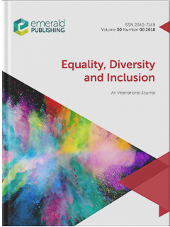 Cover of Equality, Diversity, and Inclusion: An International Journal