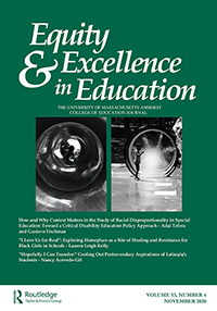 Cover of Equity & Excellence in Education