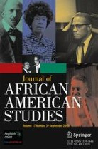 Cover of Journal of African American Studies