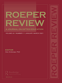 Cover of Roeper Review