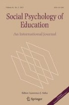 Cover of Social Psychology of Education