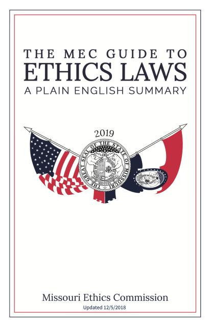 View the 2019 MEC Guide to Ethics Laws