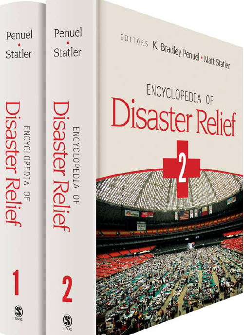 image of cover of Encyclopedia of Disaster Relief. Click to view.