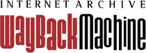 Internet Archive WayBack Machine red & black logo