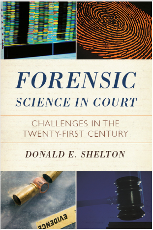 Forensic Science in Court book jacket