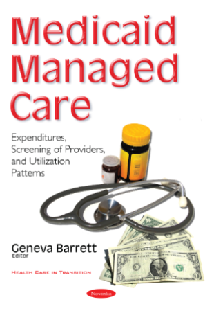 Medicaid Managed Care book jacket