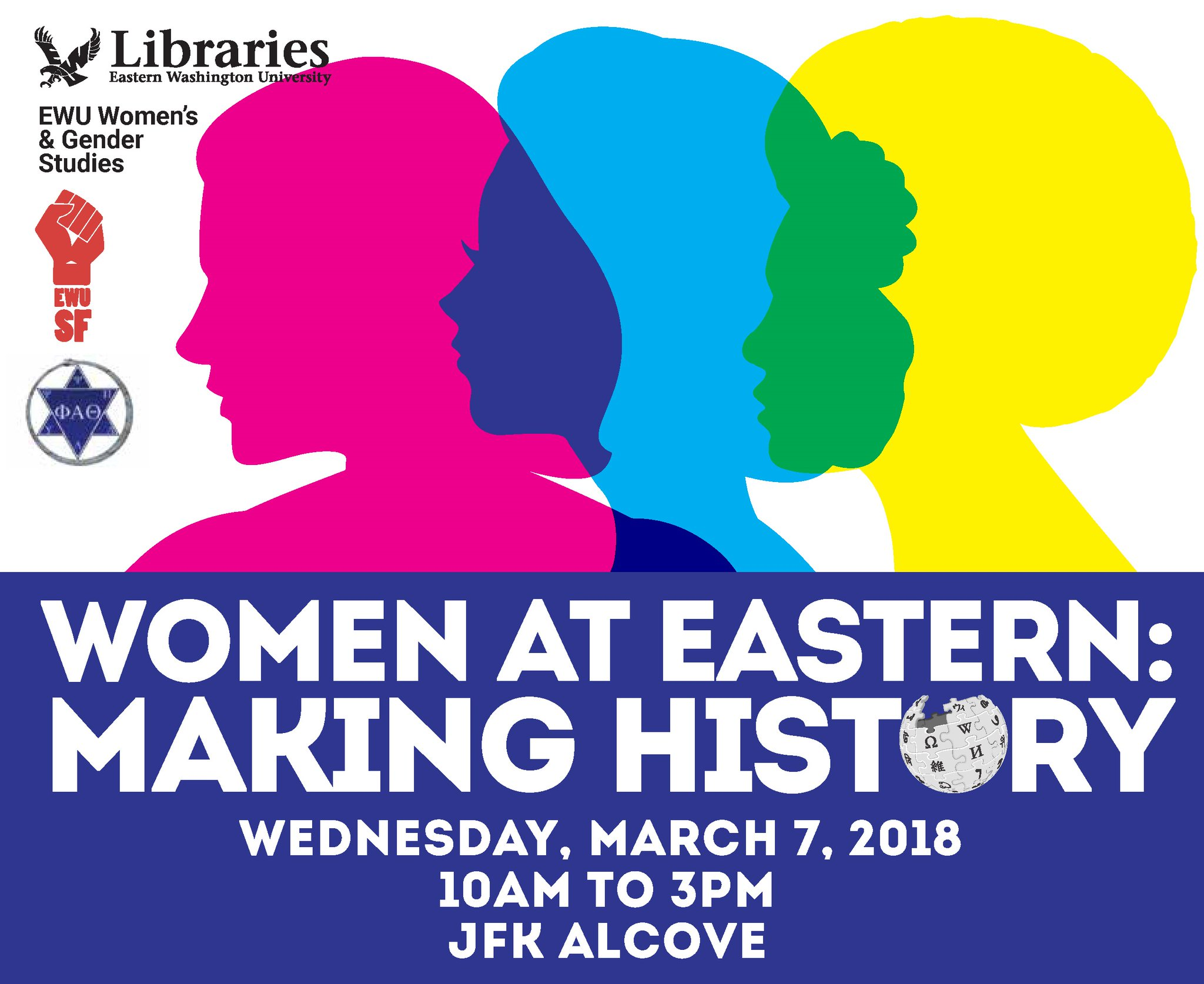 Women at Eastern poster
